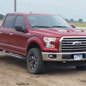 2015 – 2016 Ford F-150 Ram Air Hood
